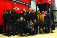 Team at the local entrepreneu's factory